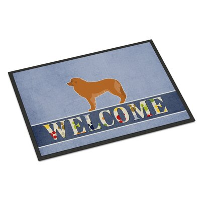 Leonberger Indoor/Outdoor Doormat