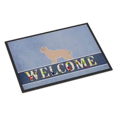 Pyrenean Shepherd Indoor/Outdoor Doormat