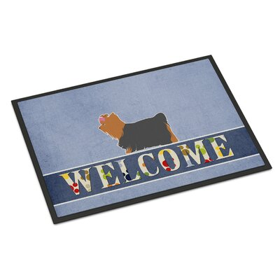 Yorkshire Terrier Yorkie Indoor/Outdoor Doormat