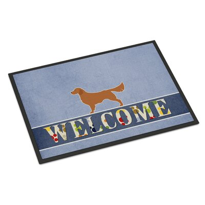 Golden Retriever Indoor/Outdoor Doormat