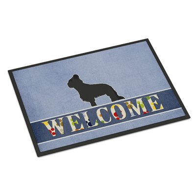 Briard Indoor/Outdoor Doormat