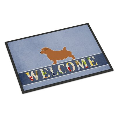 Norfolk Terrier Indoor/Outdoor Doormat