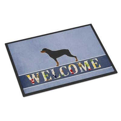 Rottweiler Indoor/Outdoor Doormat