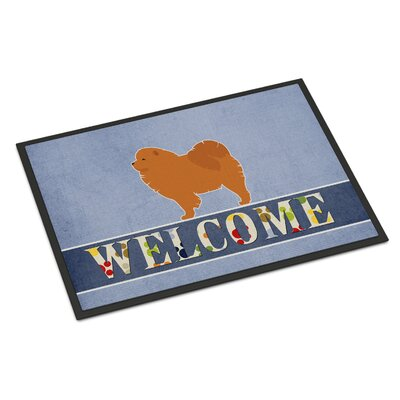 Chow Chow Indoor/Outdoor Doormat