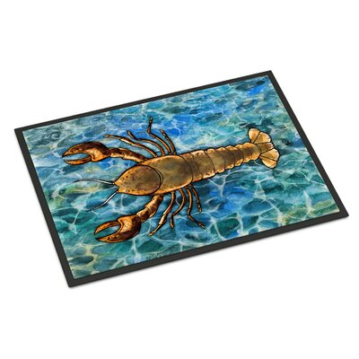 Lobster Indoor/Outdoor Doormat