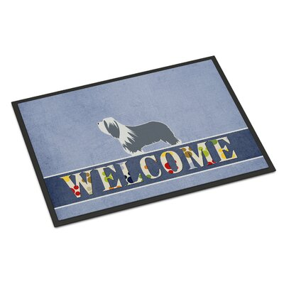 Bearded Collie Indoor/Outdoor Doormat