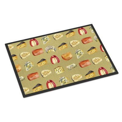 Cheeses Indoor/Outdoor Doormat