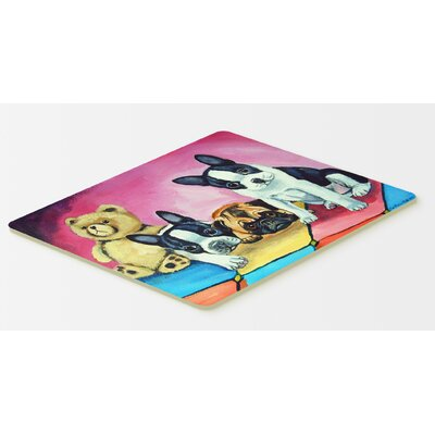 Multiple Breeds Doormat Mat Size: Rectangle 16 x 2 3