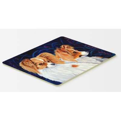 Papillon Kitchen/Bath Mat Size: 24