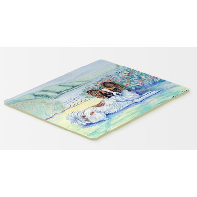 Papillon Kitchen/Bath Mat Size: 20