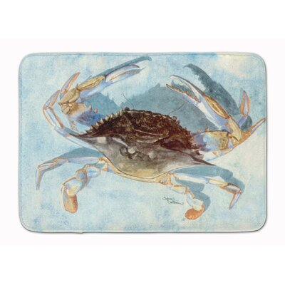 Barre Crab Memory Foam Bath Rug