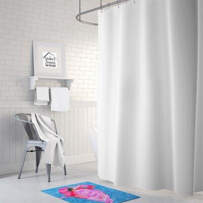 Flamingo Memory Foam Bath Rug
