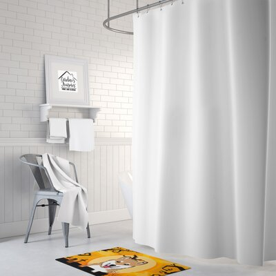 Testa Shiba Inu Memory Foam Bath Rug