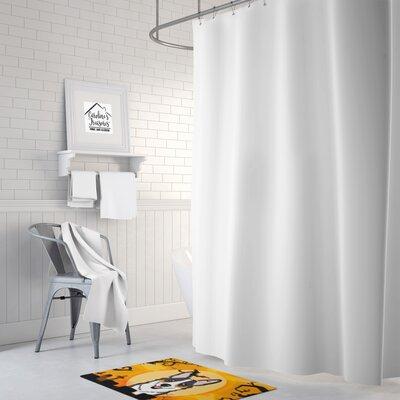 Testa Tricolor Corgi Memory Foam Bath Rug
