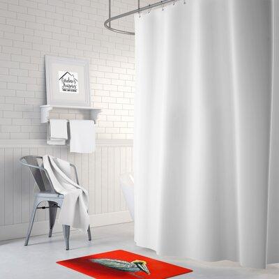 Pelican Sitting Memory Foam Bath Rug