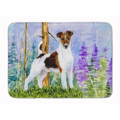 Keston Jack Russell Terrier Memory Foam Bath Rug