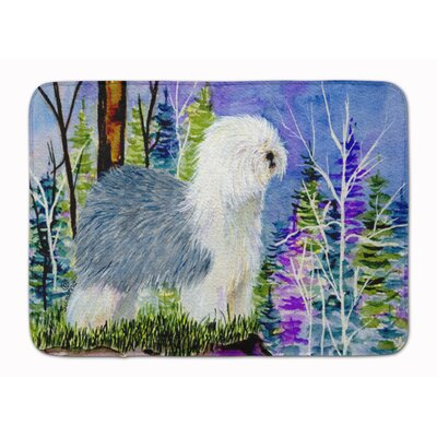 Old English Sheepdog Memory Foam Bath Rug