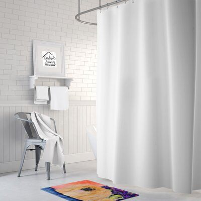 Pekingese Memory Foam Bath Rug