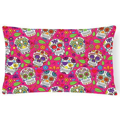 Day of the Dead Rectangle Lumbar Pillow