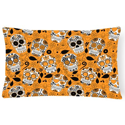 Day of the Dead Lumbar Pillow