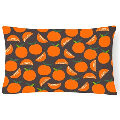 Kenbridge Oranges on Lumbar Pillow