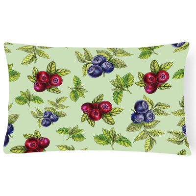 Clarafield Berries Lumbar Pillow