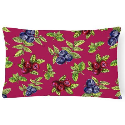 Claravale Berries Lumbar Pillow