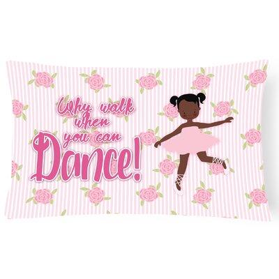 Paul Ballet African American Pigtails Lumbar Pillow