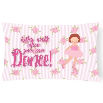 Carlie Ballet Short Hair Lumbar Pillow