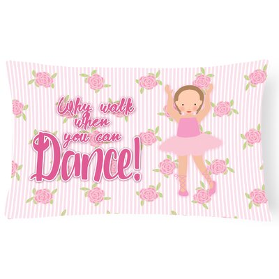 Cayla Ballet Short Hair Lumbar Pillow