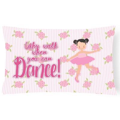 Benny Ballet Pigtails Lumbar Pillow