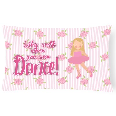 Bernadette Ballet Long Hair Lumbar Pillow