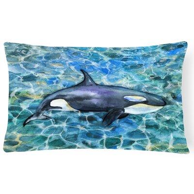 Claraville Killer Whale Orca Lumbar Pillow