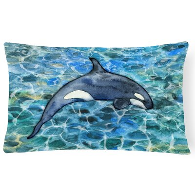 Claredon Killer Whale Orca Lumbar Pillow