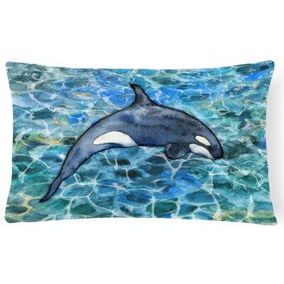 Claredon Killer Whale Orca Lumbar Pillow