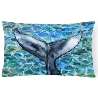 Clarina Whale Tail Lumbar Pillow