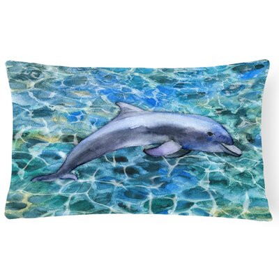 Clarmont Dolphin Lumbar Pillow