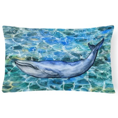 Claverley Humpback Whale Lumbar Pillow