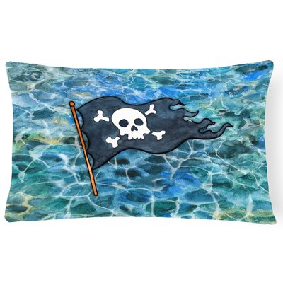 Clayfield Pirate Flag Lumbar Pillow