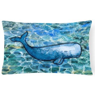 Coleville Sperm Whale Cachalot Lumbar Pillow
