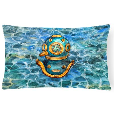 Colewood Deep Sea Diving Helmet Lumbar Pillow
