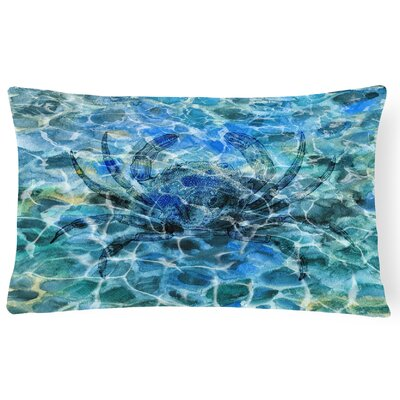 Colinda Crab Under water Lumbar Pillow