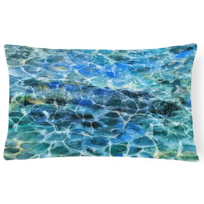 Collie Eel Under water Lumbar Pillow
