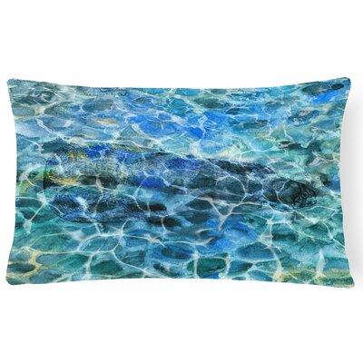 Collie Eel Under water Lumbar Pillow