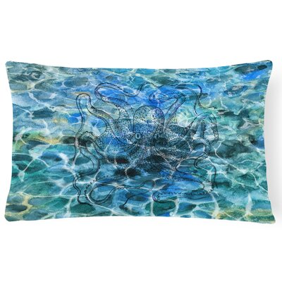 Collinton Octopus Under water Lumbar Pillow