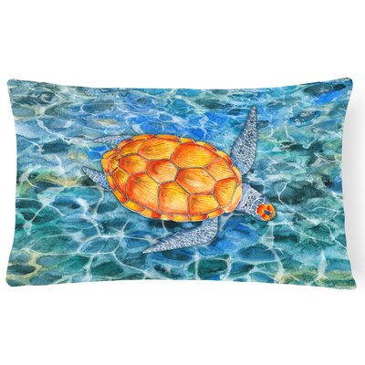 Chona Sea Turtle Lumbar Pillow