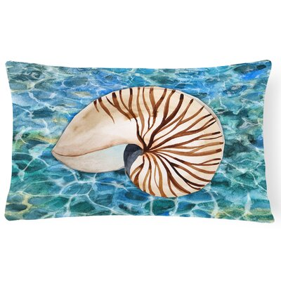 Coburn Sea Shell and Water Lumbar Pillow