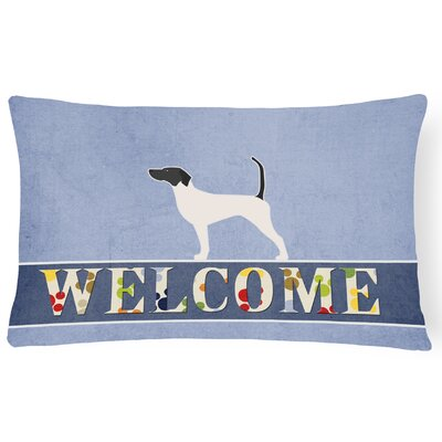 Carlton English Pointer Welcome Lumbar Pillow