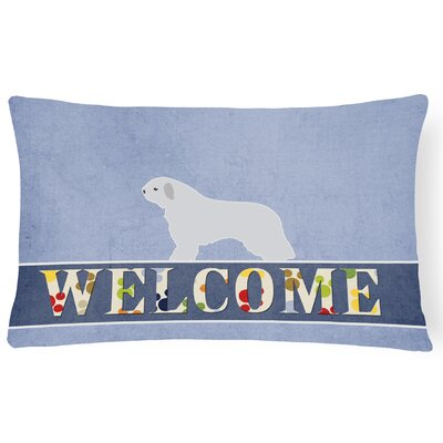 Desiny Dog Welcome Lumbar Pillow