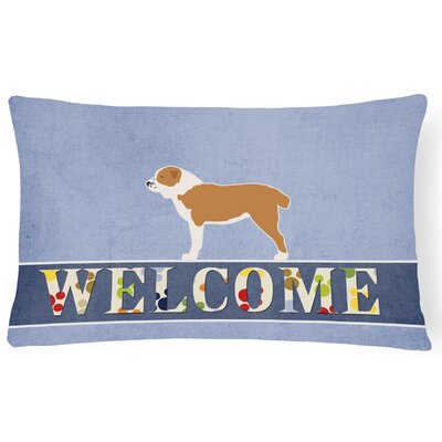 Drennen Central Asian Shepherd Dog Welcome Lumbar Pillow